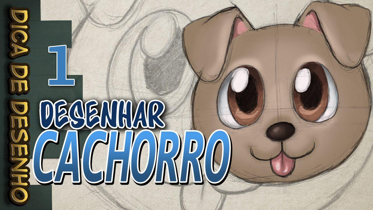 Como Desenhar Um Cachorro Kawaii Dica De Desenho